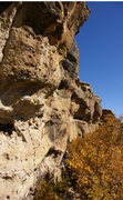 Rock Climbing Photo: Another fun looking line at Castlewood Canyon