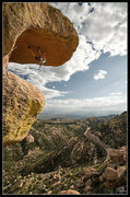 Rock Climbing Photo: Dave Hein aiding 'The Bill' on Goosehead  flickr.c...