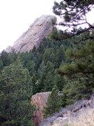 Rock Climbing Photo: Square Rock, Dinosaur Rock, Dinosaur Mountain.