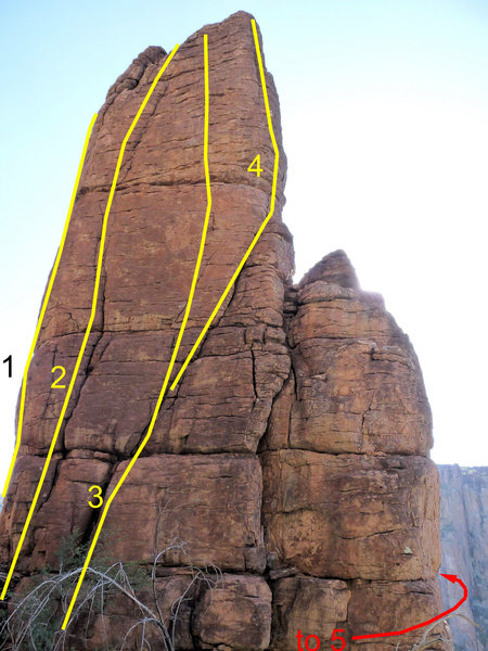 Rock Climbing Photo: Coop Overview 1) Coop Du Jour 2) Going out of Chic...