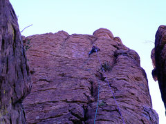Rock Climbing Photo: FA of Accelerated Climbology