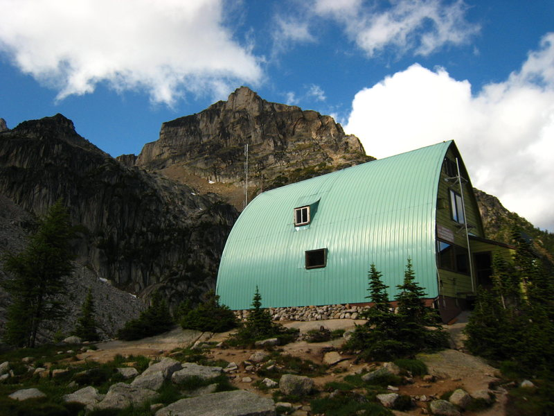 The Conrad Kain Hut