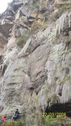 Rock Climbing Photo: dirty girl 5.9, not so much hard, so much time som...