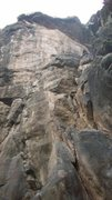 Rock Climbing Photo: the most famous route is these cliff, High Teck 5....