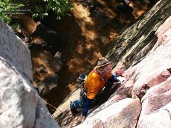Rock Climbing Photo: Burt
