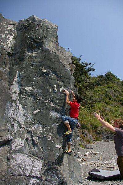 Rock Climbing Photo: V3 Arete