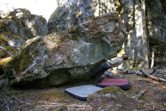 Rock Climbing Photo: Thunder cling V6 Humboldt County