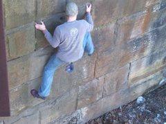 Rock Climbing Photo: The bridge, Indiana