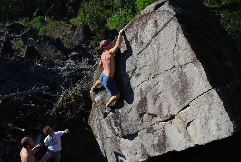 Rock Climbing Photo: The bread and butter.