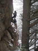 Rock Climbing Photo: Brrrrrr....