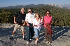Rock Climbing Photo: We ran into these very friendly Romanian tourists ...