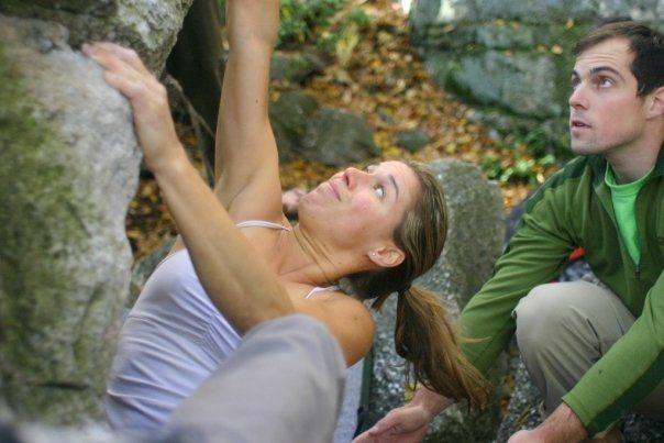 Rock Climbing Photo: Mentos, Peterskill, Gunks NY.  Spotter is Short Sh...