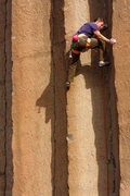 Rock Climbing Photo: Tommy Caldwell working on the project immediately ...