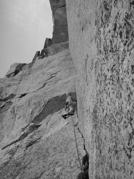 Rock Climbing Photo: The beautiful corner on OZ... only wish it was lon...