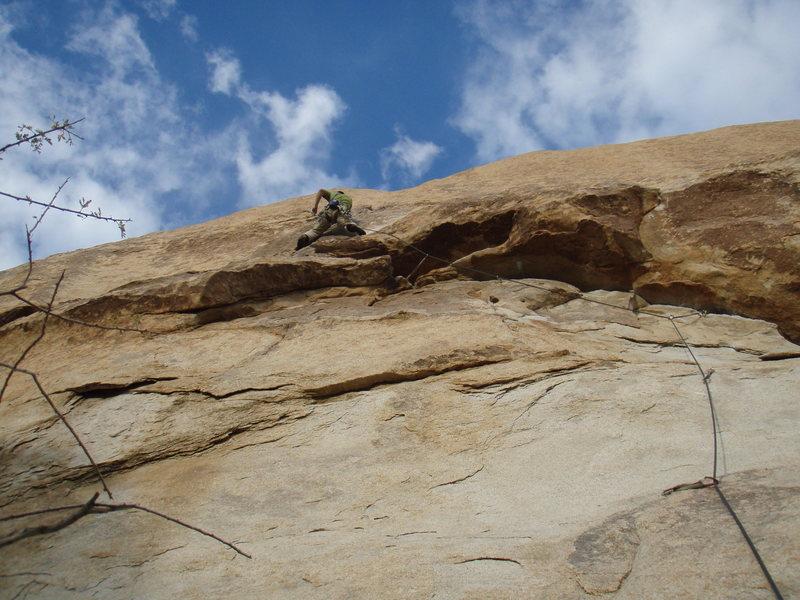 Rock Climbing Photo: Sidewinder on a windy day