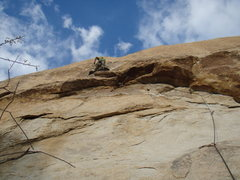 Rock Climbing Photo: Sidewinder on a windy day