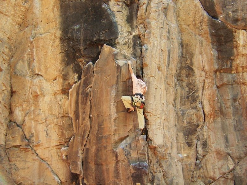 Rock Climbing Photo: Narcolepsy. This is a really fun climb in an amazi...