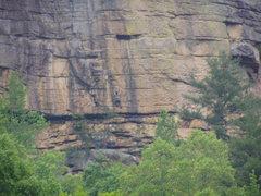 Rock Climbing Photo: Will Loftus On Dog A Pony Show