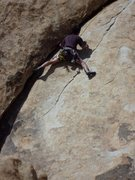 Rock Climbing Photo: Scott Nomi follows.