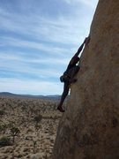 Rock Climbing Photo: Tennessee between bolts 1 and 2. (c)2009 Scott Nom...
