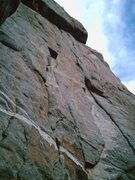 Rock Climbing Photo: This is pitch #2....so good.