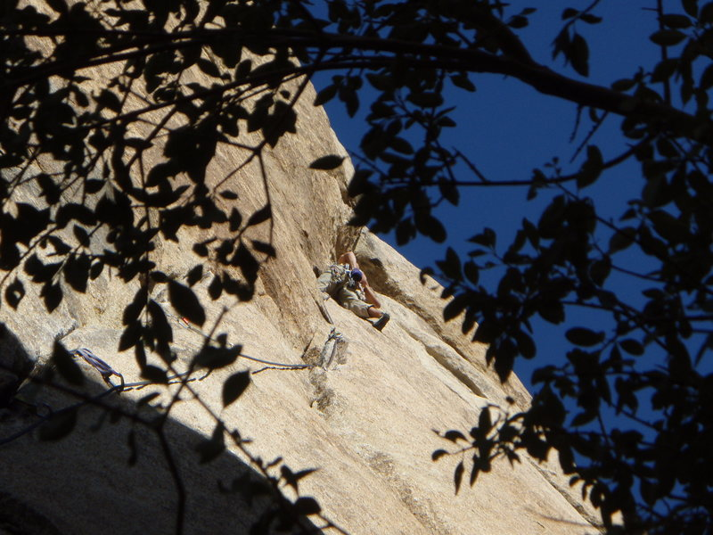 Rock Climbing Photo: Illusion Dweller on a perfect Oct day