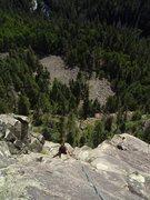 Rock Climbing Photo: Dan Wright at Vallicito.