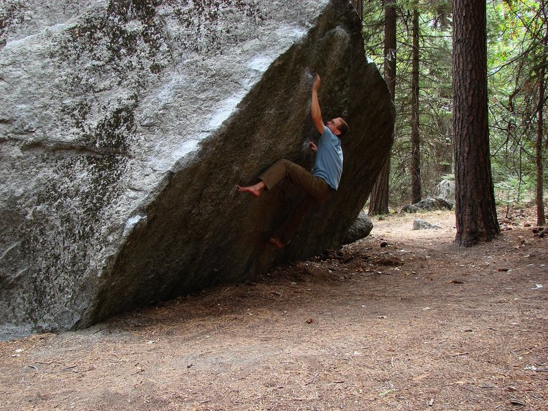 Rock Climbing Photo: Shot 1 of 2, woefully underprepared but psyched to...