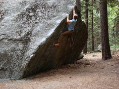 Rock Climbing Photo: Shot 2 of 2, higher up on the jugs.  Sept 09.  See...