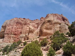 Rock Climbing Photo: a picture of the crag from the hike up