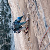Vaino Kodas, cruising the p6 crux