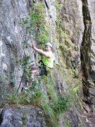 Rock Climbing Photo: Falling!!!