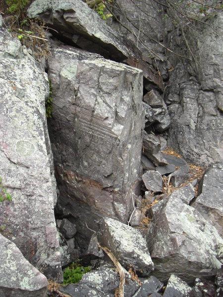 More rock.