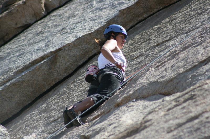 Rock Climbing Photo: me on Boogaloo Direct