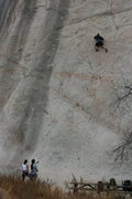 Rock Climbing Photo: Roger on Wedunnett