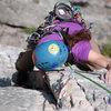 Laura Hahn seconding Alcoa Presents at Sececa Rocks, WV
