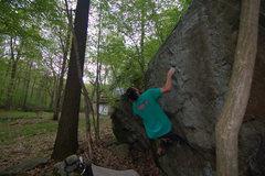 Rock Climbing Photo: Revisiting an old favorite in Bear Rocks, PA - Roa...