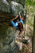 Rock Climbing Photo: The worlds best partner taking a lap on Her commit...