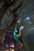 Rock Climbing Photo: A fun problem named the Scoop at Foley's Wall Left...