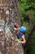 Rock Climbing Photo: The description in the book said it might have a l...