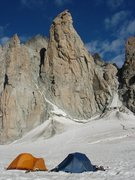 Camping in Grand Capucin basin