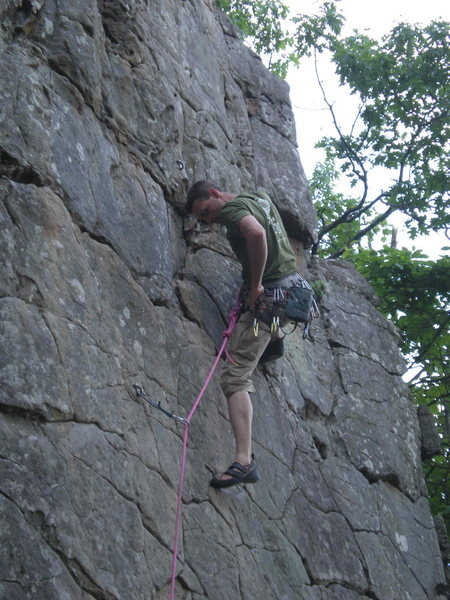 Rock Climbing Photo: Horseshoe Canyon Ranch, Arkansas