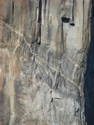 Rock Climbing Photo: Climbers on El Cap, Sept 30, 2009.  If this is you...