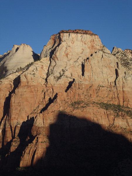 Rock Climbing Photo: red cham