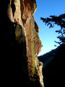 Rock Climbing Photo: Silver Raven, 11d. Photo: Johanna Twiford.
