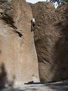 Rock Climbing Photo: Deadmans corner V2