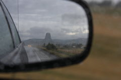 Rock Climbing Photo: leaving devils tower because it was too rainy. Pho...