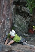 Rock Climbing Photo: andrew just after the roof  Photo:Taylor Krosbakke...