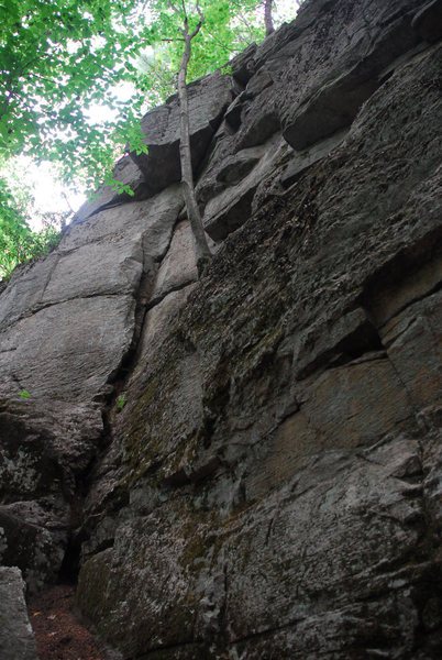 Rock Climbing Photo: Another obvious feature to climb.