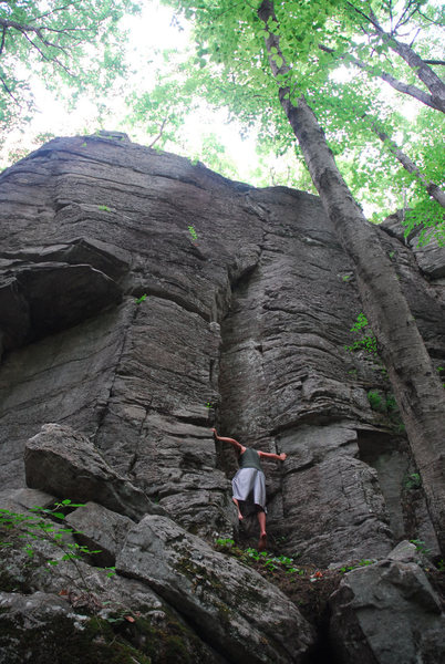 Rock Climbing Photo: The Middle Dihedral